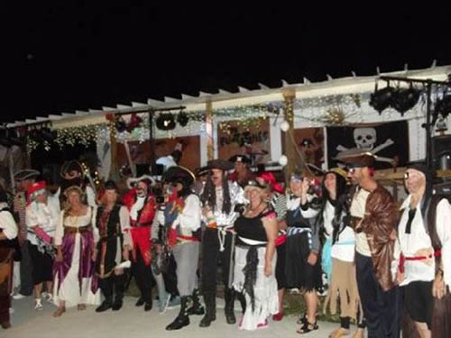Pirates of Caribbean annual dance