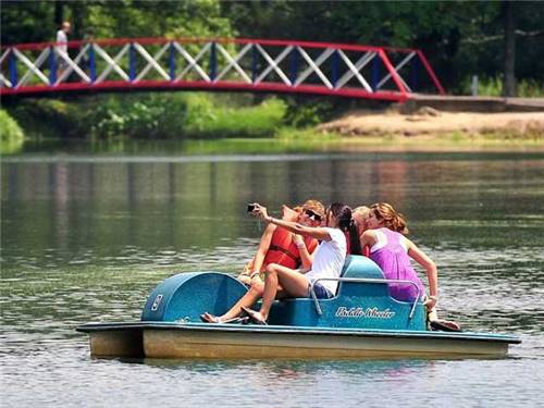 Paddle Boat,  Row Boat & Canoe Rentals