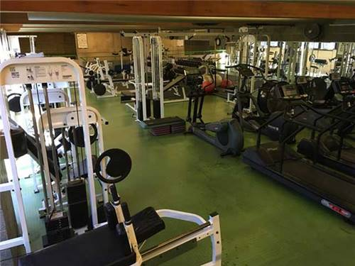 Weight Room in the 30, 000 Sq. Ft. Sports & Fitness Center