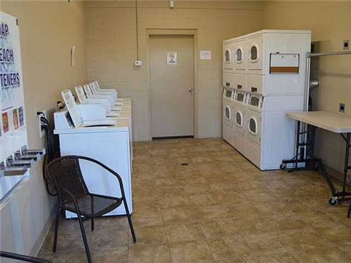 Clean, modern laundry facilities
