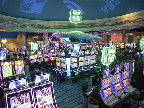 Route 66 Casino have over 1,300 slots, table games and a dedicated poker room.