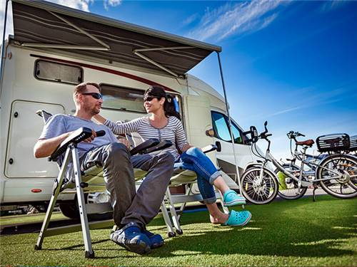 Northern Quest RV Resort has a variety of luxury, pull-through and regular sites to choose from.