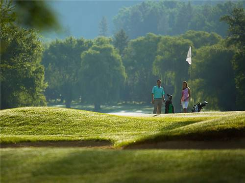 Kalispel Golf and Country Club is a challenging 18-hole escape along the Little Spokane River.
