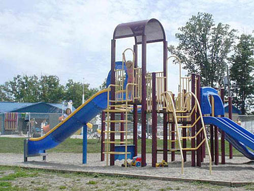 Our playground is a favorite place to enjoy themselves