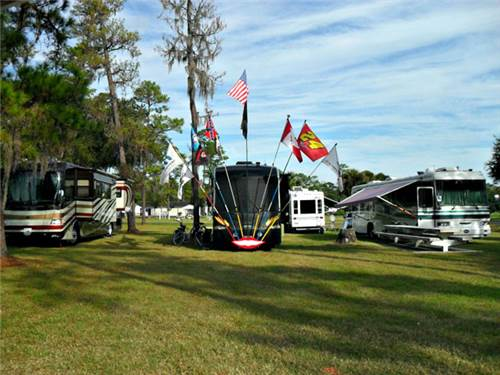 Oversized, Premium RV Sites