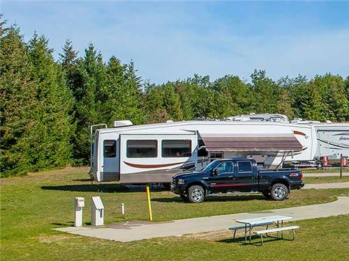 Our RV Park is designed for our guests