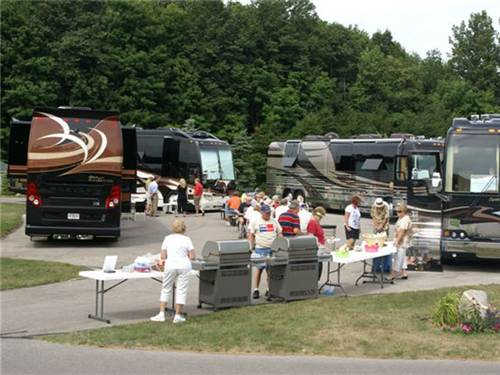 Millennium RV Show with cook-out