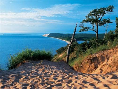 Explore beautiful Sleeping Bear Dunes. The most beautiful place in America