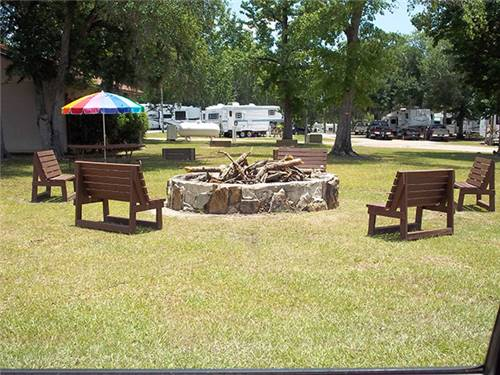 Relax in one of our shady sites