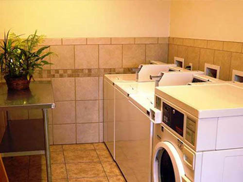 Clean,  newly updated laundry facilities