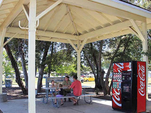 Shady Campground picnic area