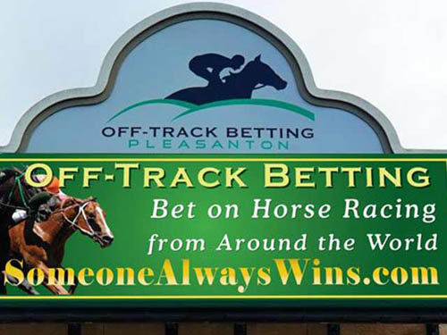 Enjoy live satellite horse racing on-site at the off-track betting facility