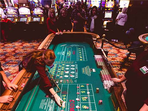Our Casino offers all the games you would expect along with a large non-smoking gaming area