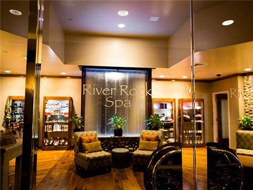 And there is also the full-service River Rock Spa offering pampering for everyone
