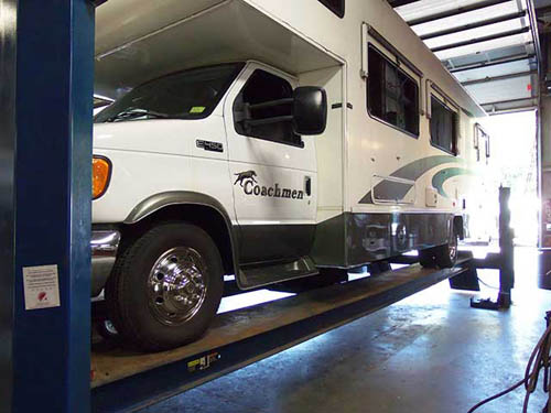 Cusson - for all your RV service needs!
