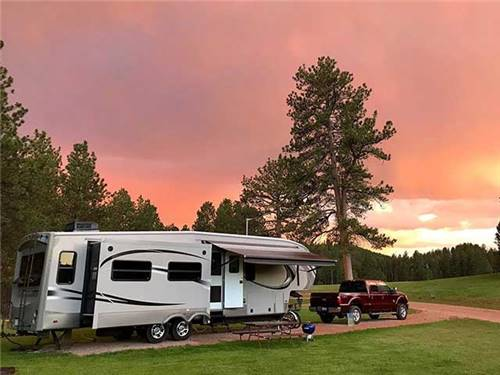 Stay with us - to camp on the grounds of HISTORIC 12-MILE STAGE STOP CHEYENNE TO DEADWOOD.