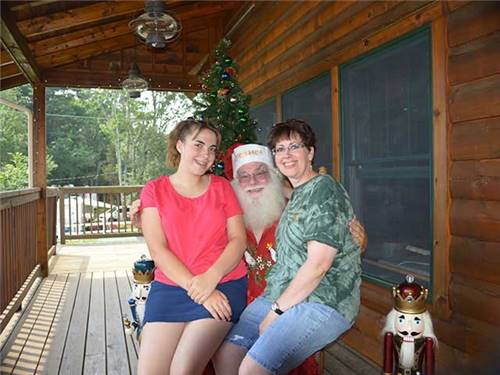 Meet Santa 'Christmas in July'