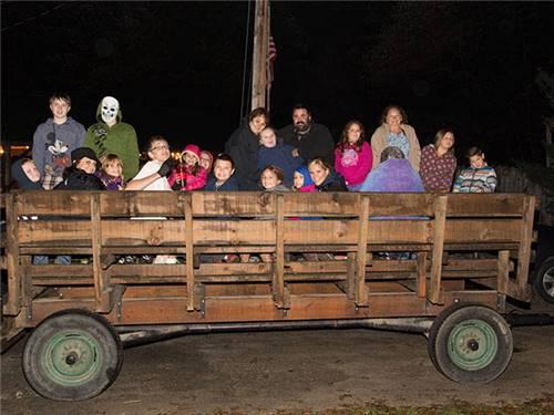 Creepy Hay Rides