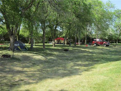 Plenty of beautiful tenting sites