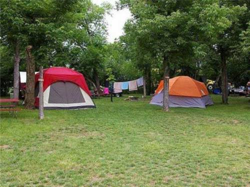 A GREAT Variety of RV & Tent sites