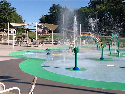 Splash Pad & Pool area