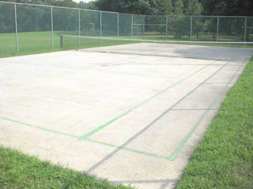 Get some exercise on the tennis court or on the shuffleboard or b-ball