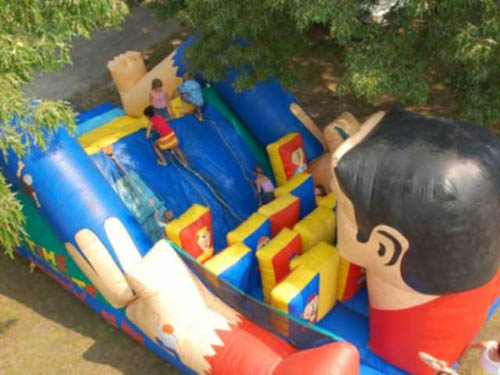 Inflatable fun on several weekends