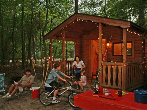 Rent one of our fun cabins