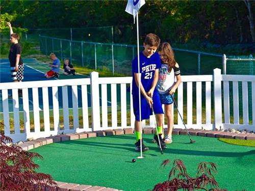 Try your hand at our mini golf
