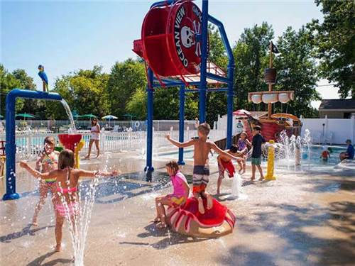 Lots of fun in our New Splash Park!