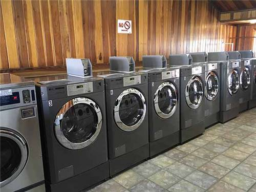 We have a commercial laundry facility