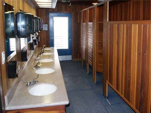 Clean Modern Restrooms