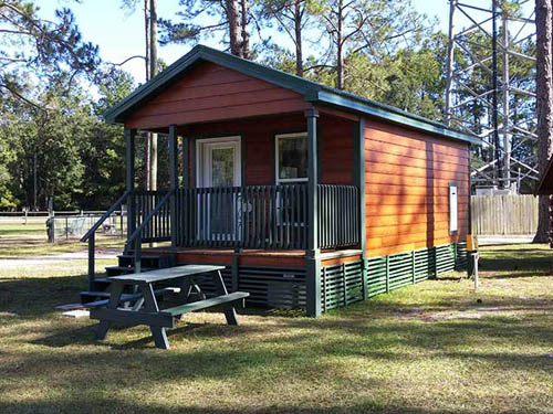 Camping Cabins Available
