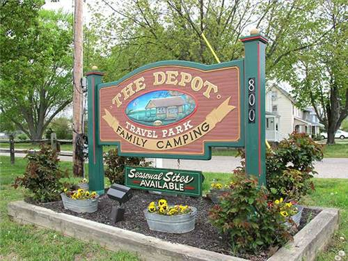 Welcome to The Depot Travel Park---