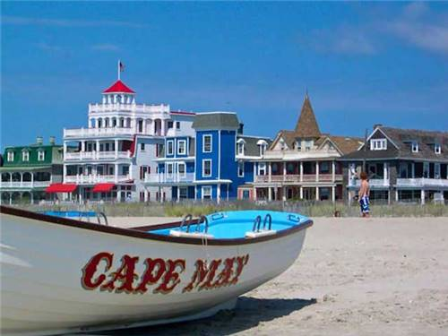 Closest campground to Cape May Beaches