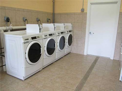 Clean & updated laundry facilities