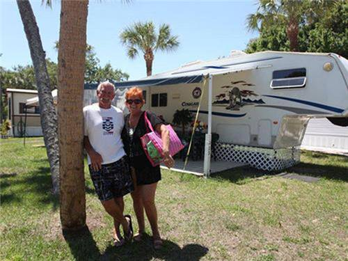 Set your RV on 1 of our beautiful sites