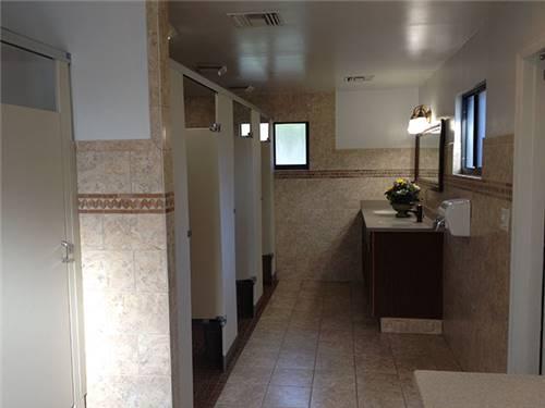 2 bathhouses, laundromat, 2 rec halls