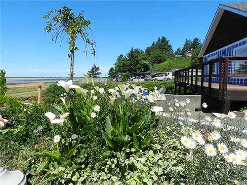 But some things will never change - our location on Netarts Bay and our lush landscaping,