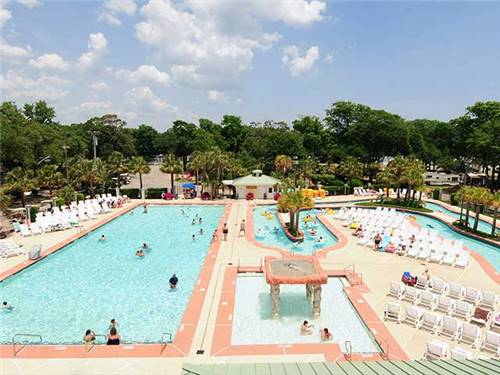 Our outdoor pool and 510 ft. Lazy River is sure to be a family favorite