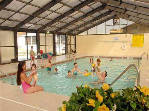 Swim year round with our indoor pool