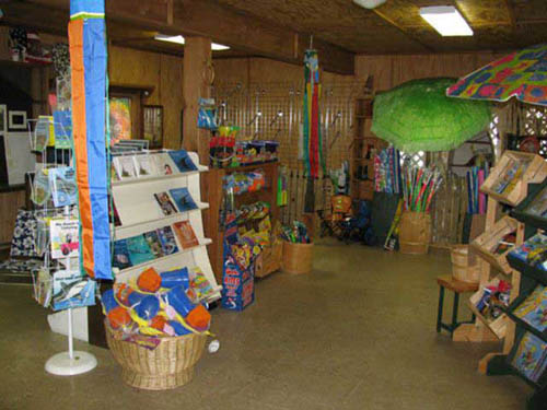 Camp Store for shopping