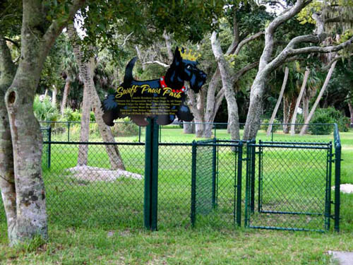 Pets love the new Camelot 'swift Paws' Dog Park.