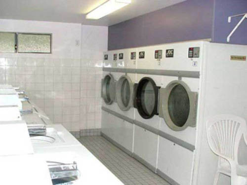 Spotless laundry facilities