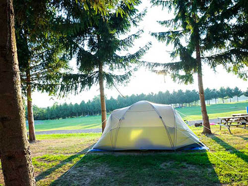 Great tenting spots