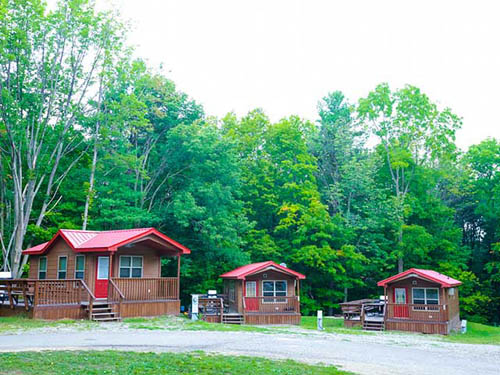 Deluxe cabins for the family