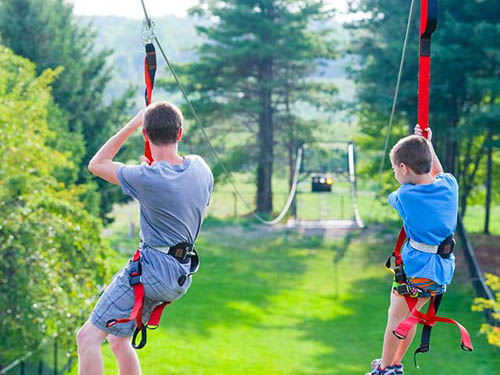 Don't miss experiencing our Zipline