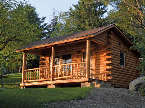 Why not try one of our rustic cabins?