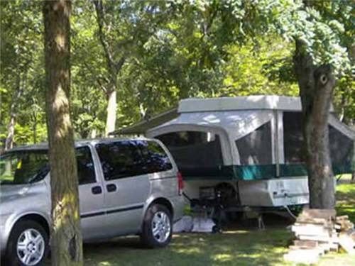 Campsites for all sizes