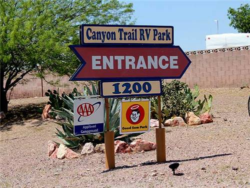 Welcome to Canyon Trail RV Park